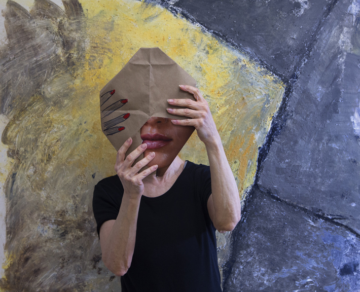 Judith Henry-Bag Face, 2014