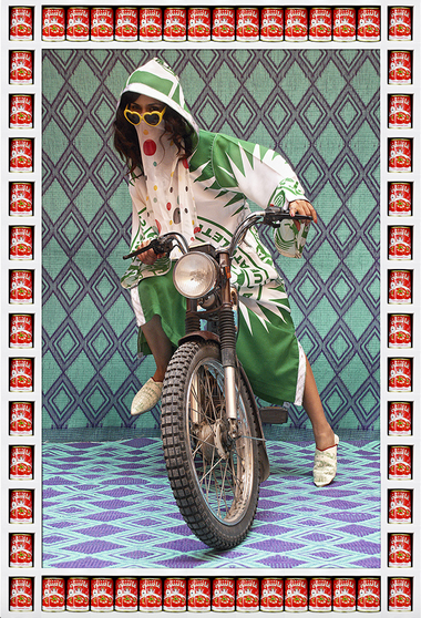 Kesh Angels by Hassan Hajjaj via GOOD 2