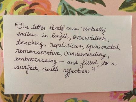 note letter jd salinger