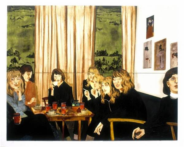 Painting: Karin Mamma Anderson's About A Girl (2005)