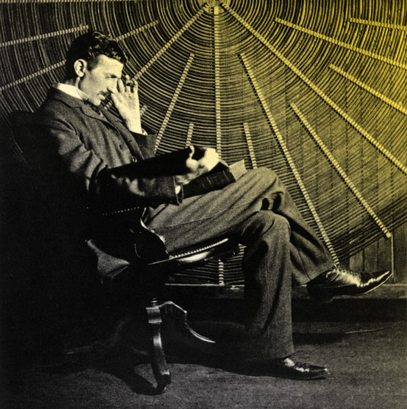 Nikola Tesla via brainpickings.org