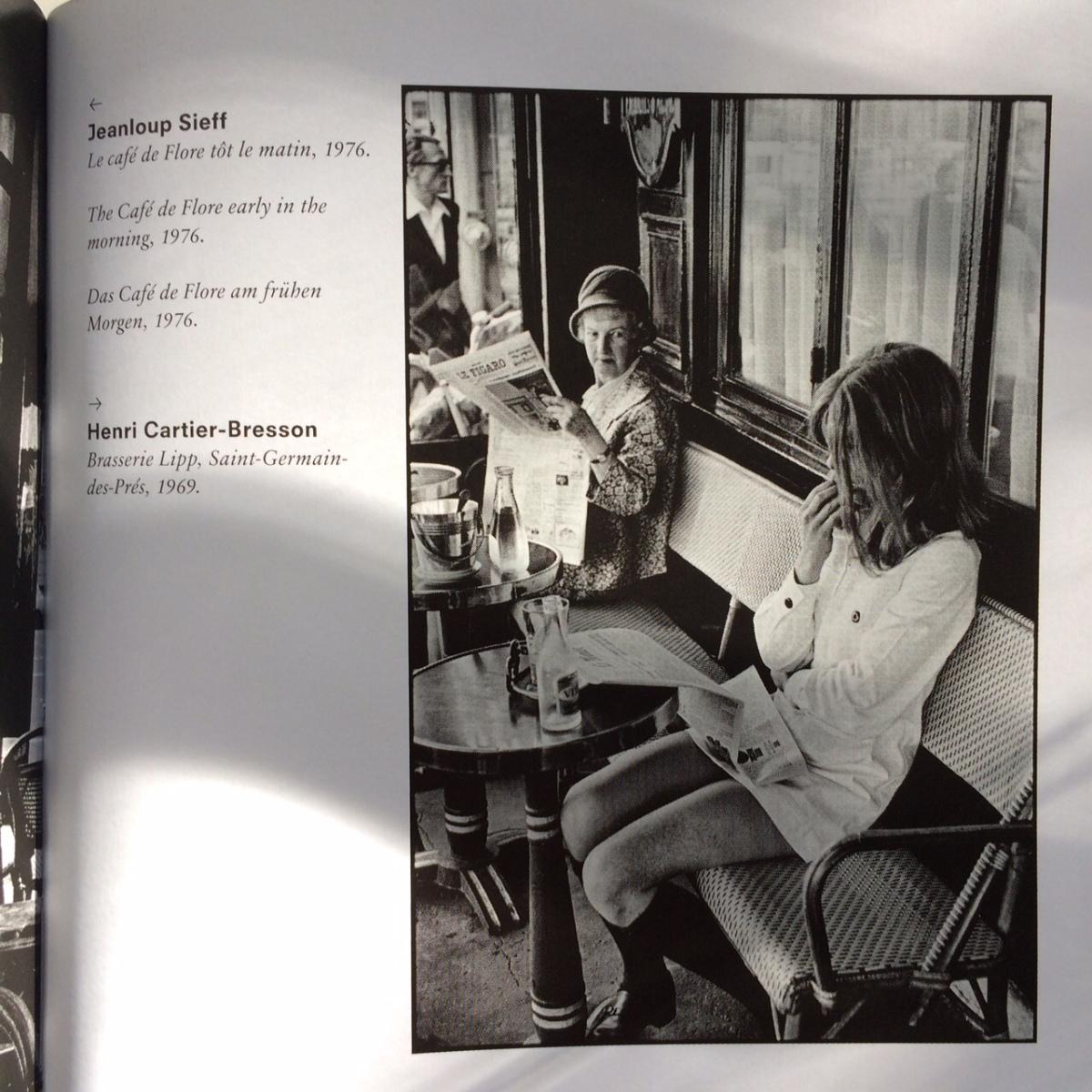 Brasserie Lipp, Saint-Germain-des-Pres, 1969 -Henri Cartier-Bresson