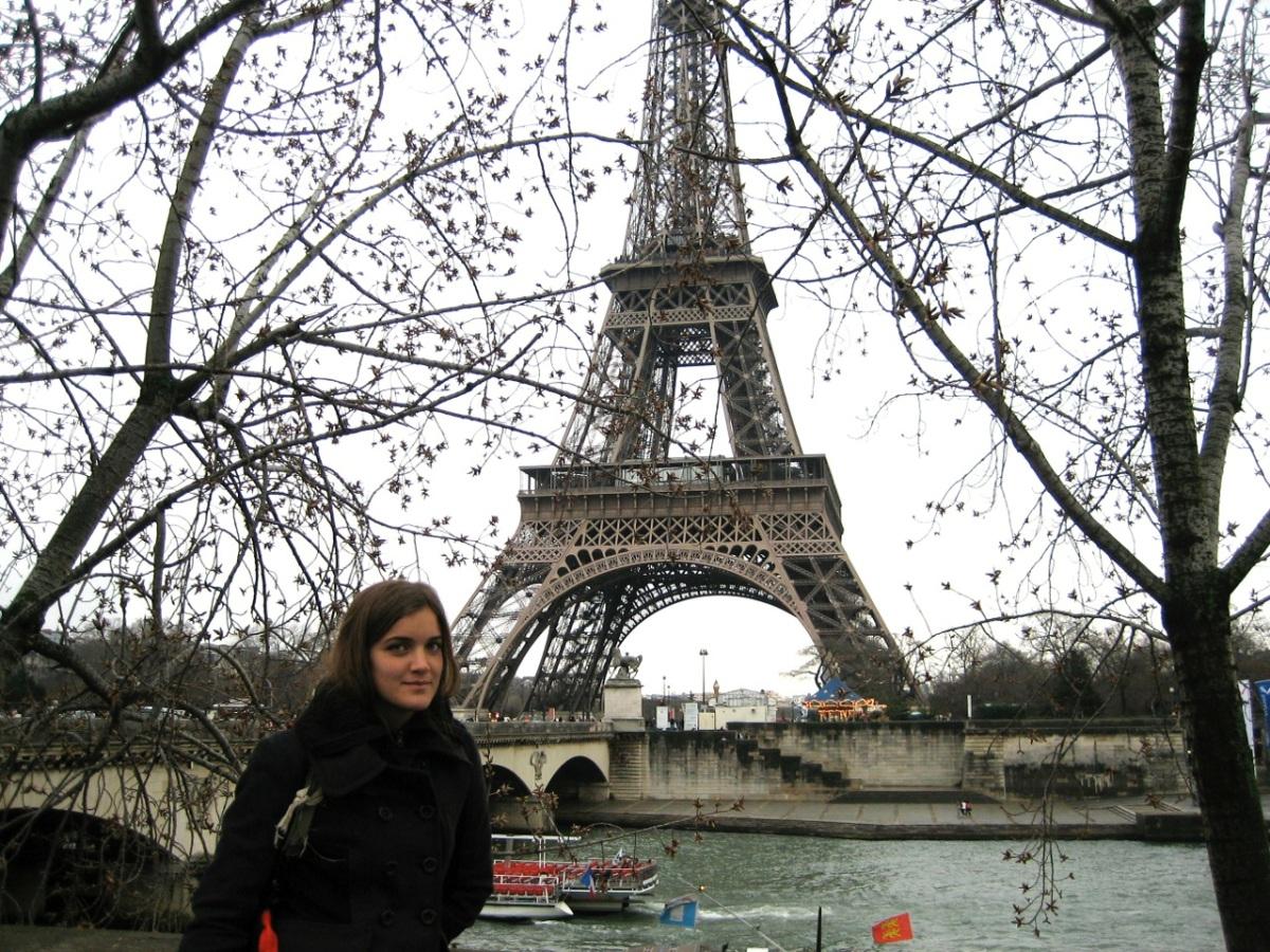 Me and Le Eiffel