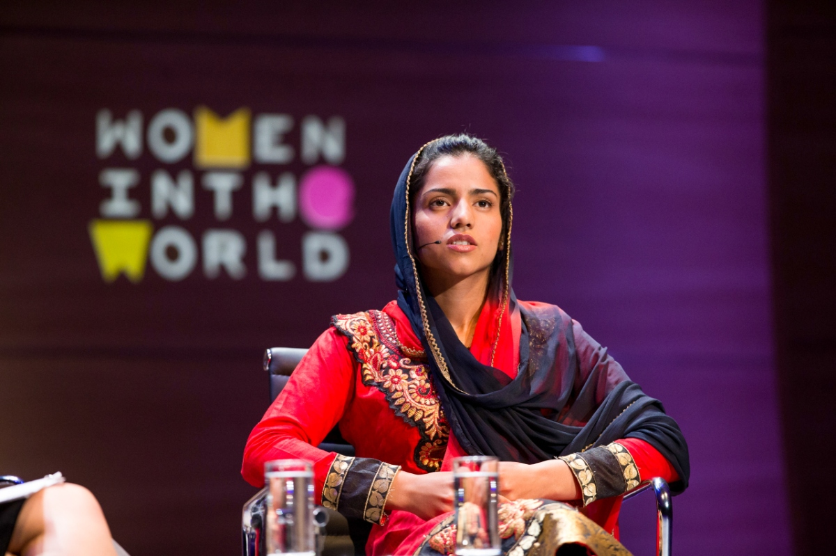 Zarghuna Kargar, Author and Journalist, BBC - via Women in the World