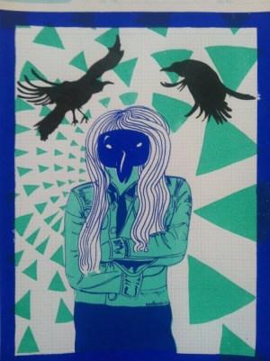 Ladybird Crow- FIONA AVOCADO