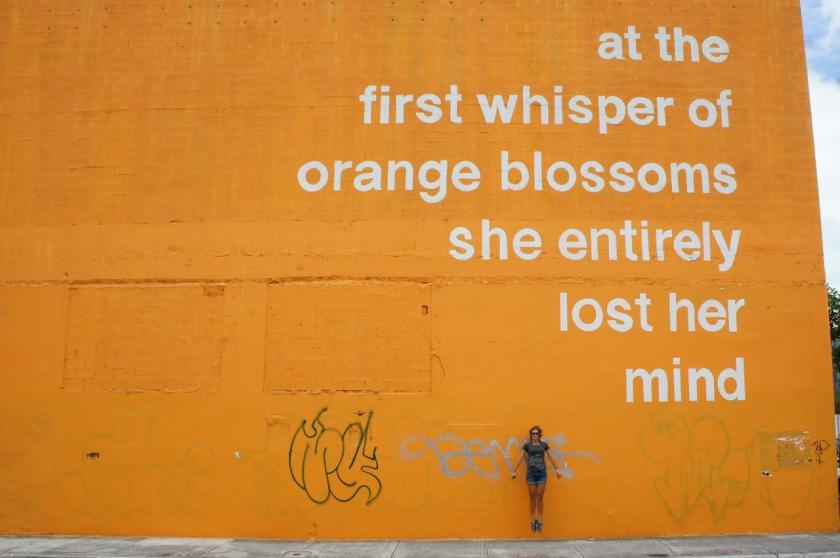 Orange Blossoms T Tona 2014